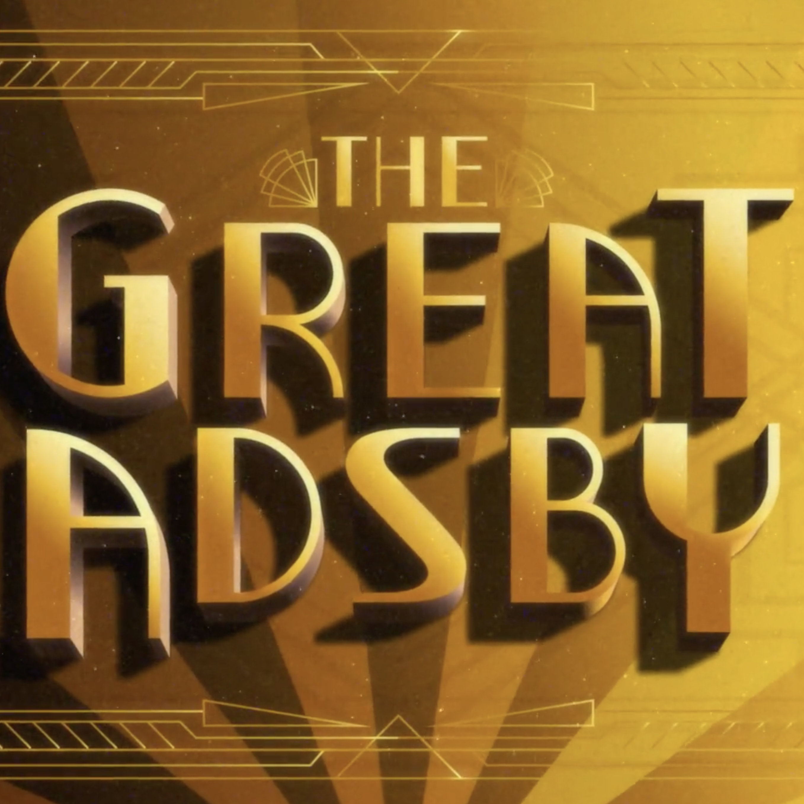The Great Adsby – Curtains (Square)